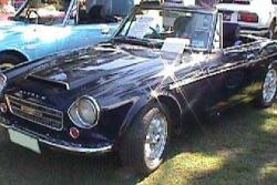 1968 Datsun 2000 roadster parts