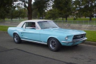 1967 MUSTANG AUTHENTIC S CODE - ORIGINAL