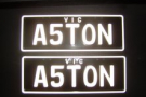 Aston Number Plates - For your aston martin