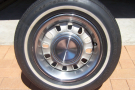 Ford Genuine 12 Slots ,compl set with W/wall tyres