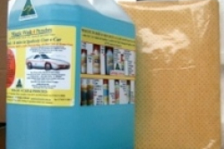 Magic Spray & Wipe 4 CARS (5 litre with   Chamois)