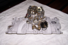 Chev E/brock Manifold w 4 Barrel 780 E/brock Carby
