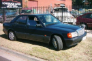Mercedes 180E in Midnight Blue