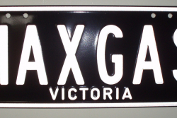 Custom VIC Plate : MAXGAS